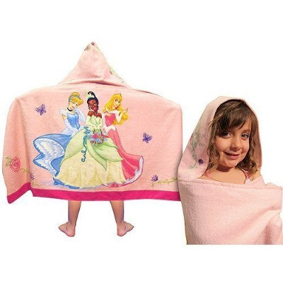 Disney Princess Hooded Towel by Jay Franco & Sons