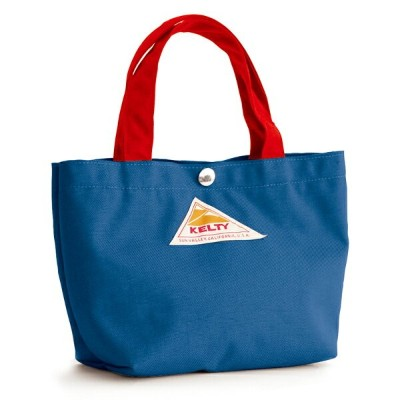 KELTY(ケルティ) MINI TOTE S Blue×Red 2592210