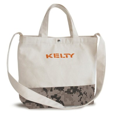 KELTY(ケルティ) SHOULDER LOGO TOTE 8L Digital Camo 2592223