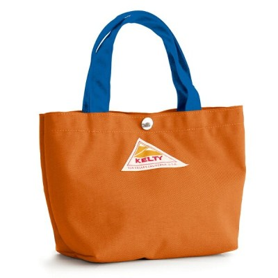 KELTY(ケルティ) MINI TOTE S Orange×Blue 2592210