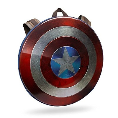 Captain America Civil War Distressed Shieldバックパック