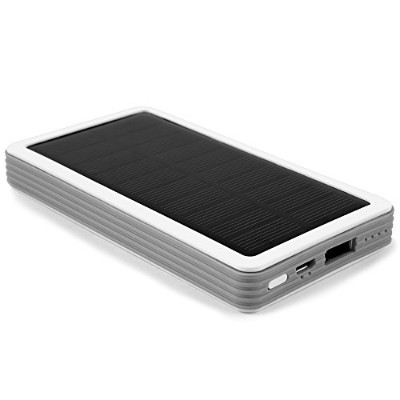 SMODO 880 無線のソーラーチャージャー 5,000mAh モバイルバッテリー Solar Charger Power Bank with iPhone X 8 8 Plus. and...