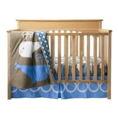 Room 365 3 Piece Crib Set Whales Collection by Room101