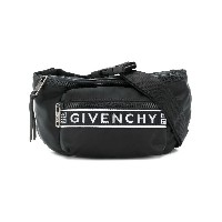 Givenchy logo belt bag - ブラック