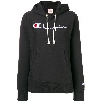 Champion embroidered logo hoodie - ブラック