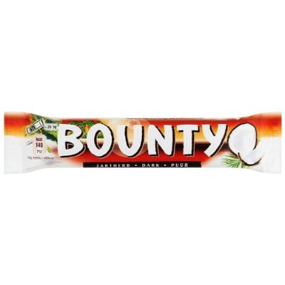 Bounty Dark Double 57 g (Pack of 24)