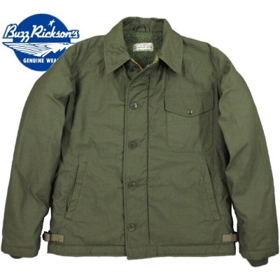 """BUZZ RICKSON'S/バズリクソンズ Jacket, Intermediate, Cold Weather Type A-2 DECK JACKET""""U.S. NAVY""""A..."""