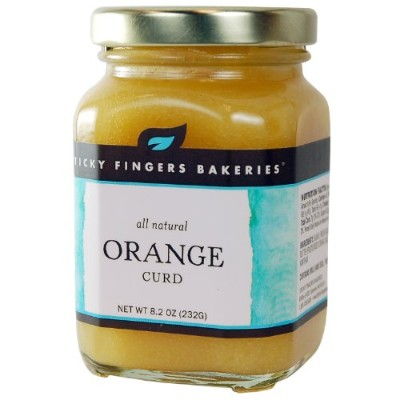 Sticky Fingers Bakeries All Natural Orange Curd -- 8.2 oz by Sticky Fingers Bakeries