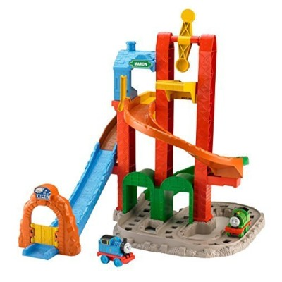 Fisher-Price My First Thomas the Train Twisting Tower Tracks [並行輸入品]