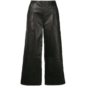 Chalayan cropped trousers - ブラック