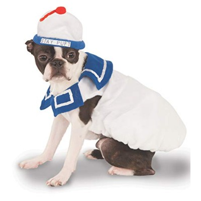Ghostbusters Movie Pet Costume, Medium, Stay-Puft Marshmallow Man by Rubie's