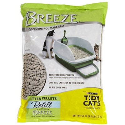 Tidy Cats Breeze Cat Litter Pellets – 3.5 LBS 2 Pack