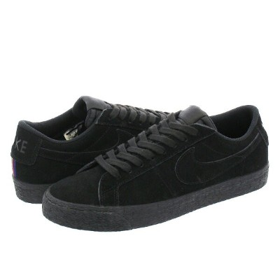 NIKE SB BLAZER ZOOM LOW ナイキ SB ブレザー ズーム ロー BLACK/BLACK/GUNSMOKE 864347-004