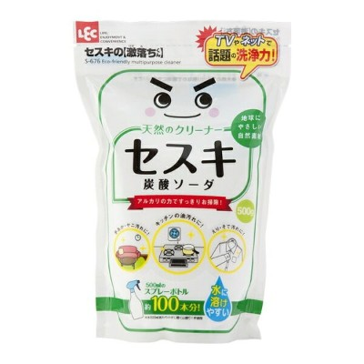 LEC レック セスキの激落ちくん 炭酸ソーダ 500g【掃除用品/粉末洗剤/洗濯/クリーナー/グッズ/日本製】