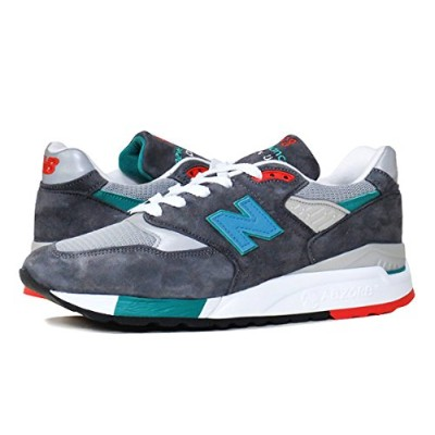(ニューバランス) NEW BALANCE M998CSRR MADE IN U.S.A. M 998 CSRR GREY/GREEN m998csrr US10.5-28.5cm [並行輸入品]