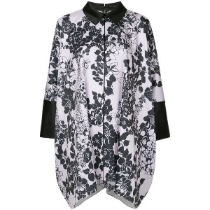 Layeur printed tunic - ピンク