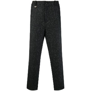 Oamc cropped trousers - ブラック