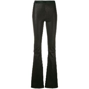 Drome flared trousers - ブラック