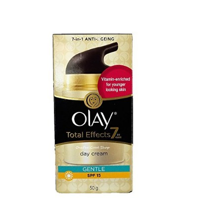 OlayTotal Effects 7 In 1 Anti_Ageing Cream Gentle SPF 15 (Net wt. 1.76 Oz or 50 g.) by onefeelgood...