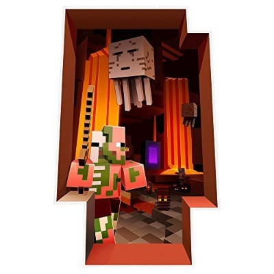 Minecraft The Nether壁粘着デカール