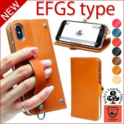 EFGS iPhone X 8 8plus 手帳型 ケース TPU 名入れ可 iphonex iphone8 iphone7 7plus 6s 6splus iphone8plus...
