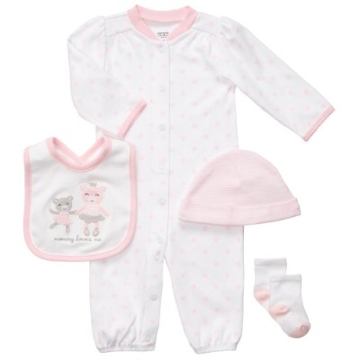 Carter's(カーターズ) :: 4-Piece Little Layette Set :: ギフトセット ロンパース 4点セット :: 9M :: 67-72 cm