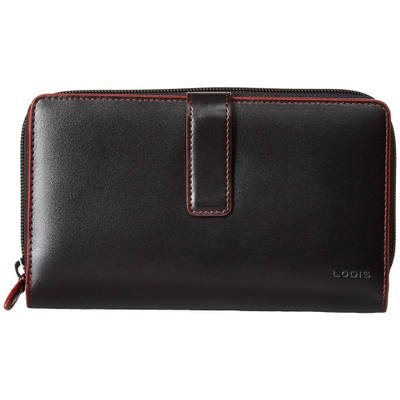 ロディス アクセサリー 財布 Audrey RFID SUV Deluxe Wallet W/ Removable Checkbook Black RFID