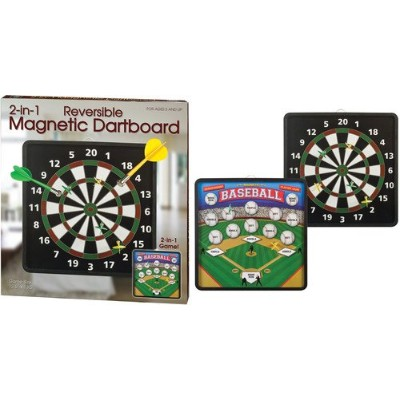 Reversible Magnetic Dartboard
