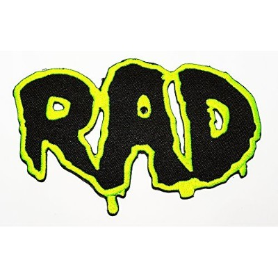 R.f. Rat Fink Big Daddy Hot Rod Logo Tab Patch Sew Iron on Embroidered Applique Sign Jackt T Shirt...