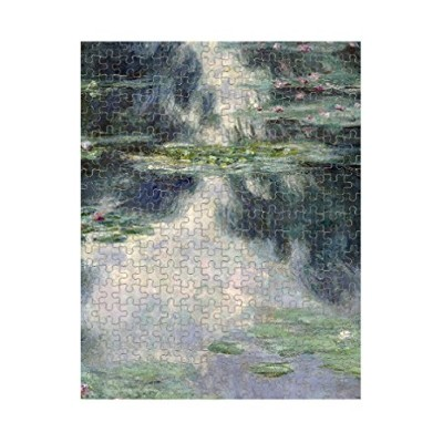 Pond with Water Lilies (モネ)ジグソーパズル印刷 252 Pieces PUZLMONET067_R_252P