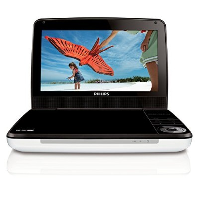 Philips PD9000/37 9-Inch LCD Portable DVD Player,White リージョンフリー 並行輸入品
