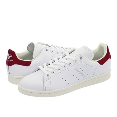 [アディダス] adidas STAN SMITH W RUNNING WHITE/RUNNING WHITE/COLLEGEATE BURGUNDY 【adidas Originals】