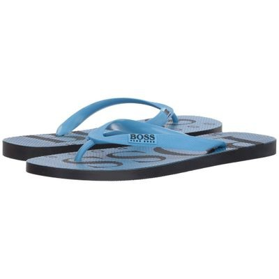 ヒューゴ ボス サンダル Wave Thong Sandal By Boss Green Pastel Blue