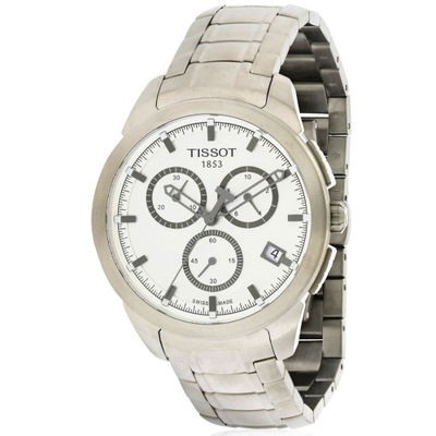 ティソ 腕時計 Tissot Chronograph Titanium Watch