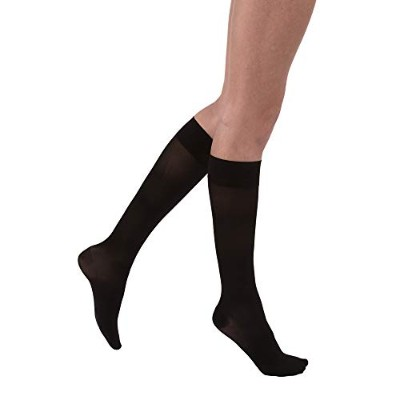 Jobst 119627 Ultrasheer Knee Highs PETITE 30-40 mmHg - 15 in. or less - Size & Color- Classic Black...