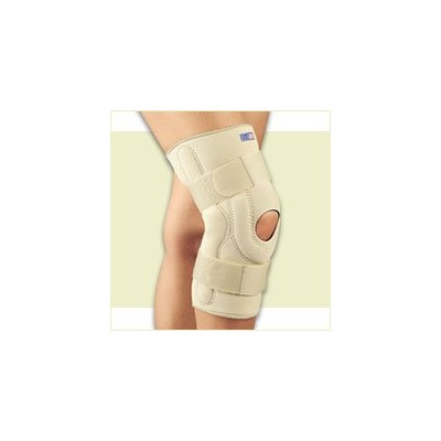 FLA Professional Stabilizing Knee Brace with Composite Hinges. Beige. Small by FLA Orthopedics