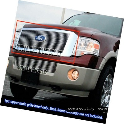 USグリル For 07-11 Ford Expedition Billet Grille Grill Insert 07-11フォード遠征ビレットグリルグリルインサート