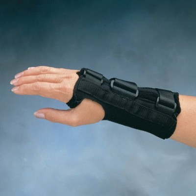 Comfort Cool Wrist Splint D-Ring (Right Small - 5.75 - 6.5) by North Coast Medical
