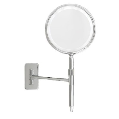 Danielle 5X LED Lighted Wall Mount and Handheld Mirror, Silver by Danielle