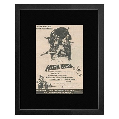 High Risk - Written and Directed By Stewart Raffill Framed Mini Poster - 33x28cm