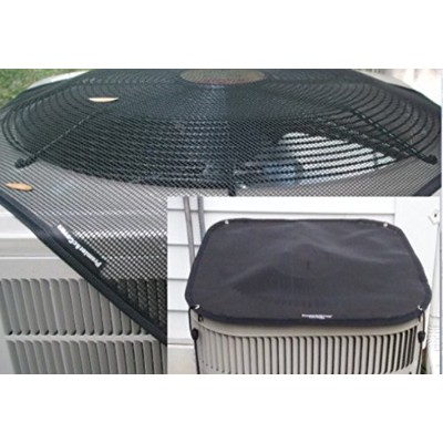 Package of TWO Outdoor Air Conditioner Covers - All Year Protection For Your AC Unit - Winter and...