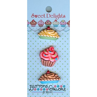 Sweet Delights Buttons-Sweet Tooth (並行輸入品)