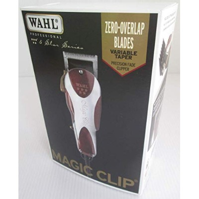 Wahl Professional 5-Star Magic Clip #8451 – Great for Barbers and Stylists – Precision Fade Clipper...