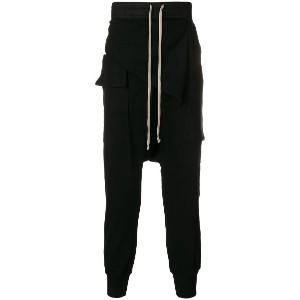 Rick Owens DRKSHDW loose fitted trousers - ブラック
