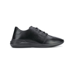 Tod's perforated lace-up sneakers - ブラック