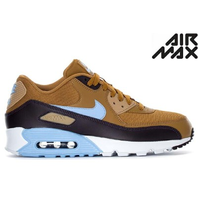 NIKE AIR MAX 90 ESSENTIAL AJ1285-202 MUTED BRONZE/ROYAL TINT-BURGUNDY ASH-DESERTナイキ エア マックス 90...