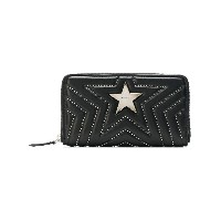 Stella McCartney Stella Star studded zip purse - ブラック
