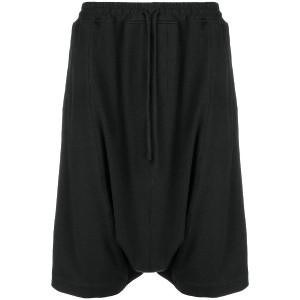 Unconditional cropped harem trousers - ブラック