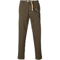 White Sand double patch trousers - グリーン