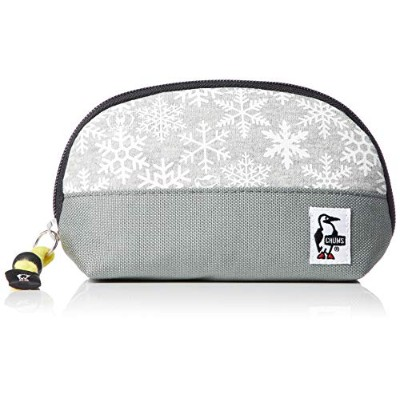 [チャムス]ポーチ Shell Pouch Sweat Nylon Snowflake